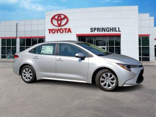 Toyota Dealership Mobile Al >> 2020 Toyota Corolla Le